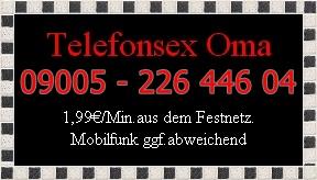 Oma Telefonsex